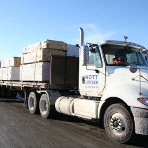 KOTT supplies dimensional lumber and sheathing