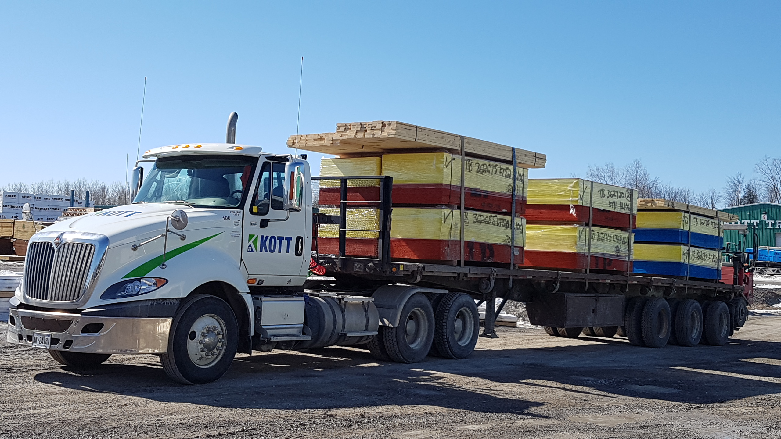 KOTT supplies framing lumber